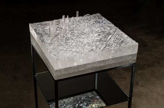 Norwood- Mining Industries: Downtown Houston, 3D printed patterns